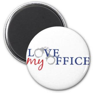 love my officercuffs 2 inch round magnet