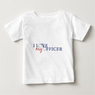 love my officercuffs infant t-shirt