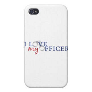 love my officercuffs iPhone 4/4S covers