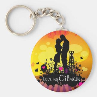 Love my Oilman Keychain