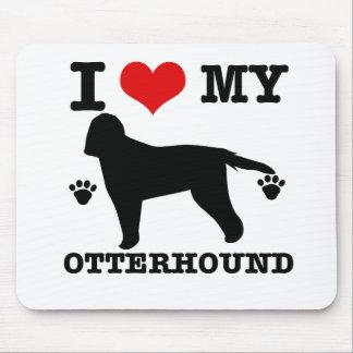 Love my otterhound mouse pad