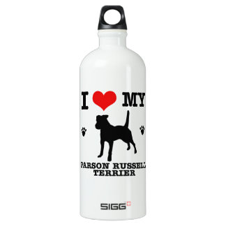 Love my parson russell terrier aluminum water bottle