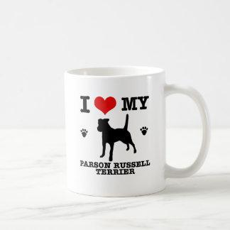 Love my parson russell terrier coffee mug