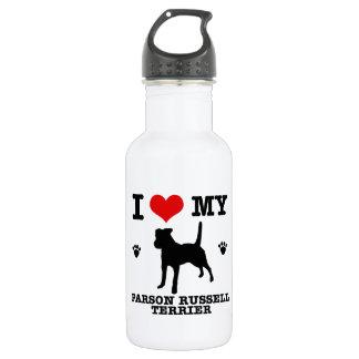 Love my parson russell terrier water bottle