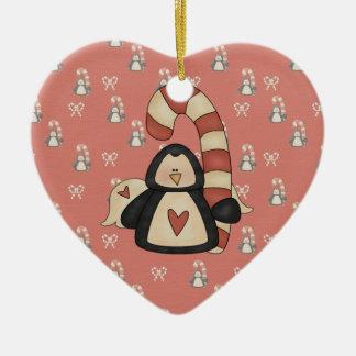 Love my Penguin Ceramic Ornament