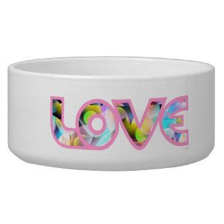 Love My Pet - pink Bowl