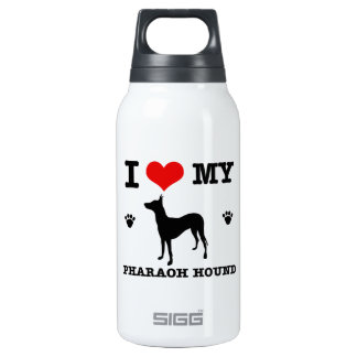 Love my Pharaoh hound 10 Oz Insulated SIGG Thermos Water Bottle