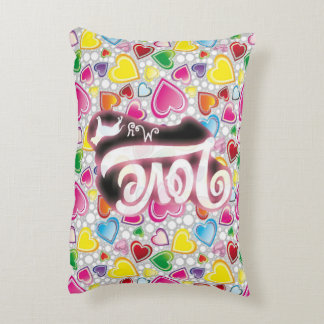 Love My Pitbull Accent Pillow