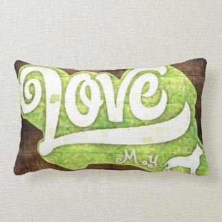Love My Pitbull Lumbar Pillow