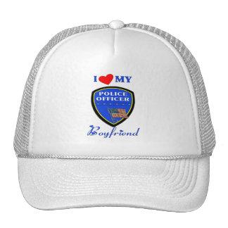 Love My Police Boyfriend Trucker Hat