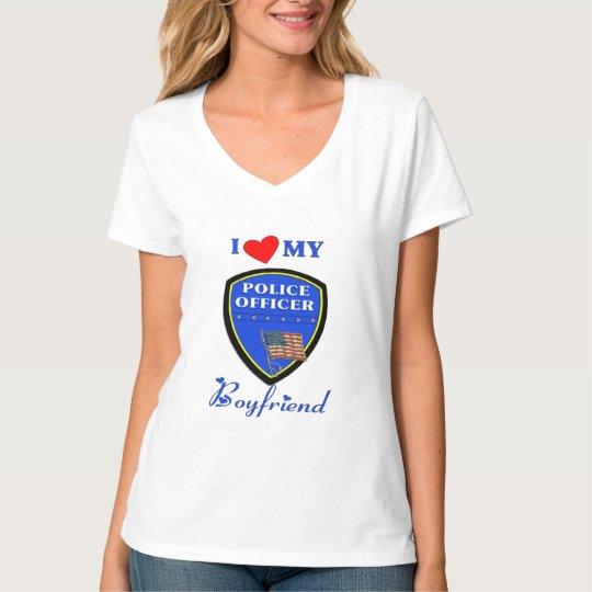Love My Police Boyfriend T-Shirt