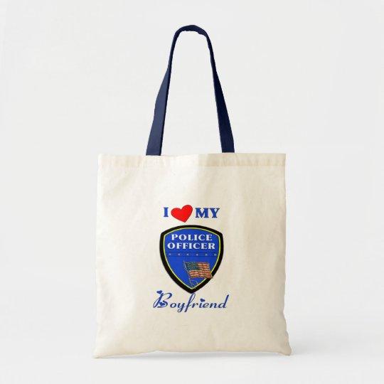 Love My Police Boyfriend Tote Bag