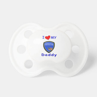 Love My Police Daddy BooginHead Pacifier