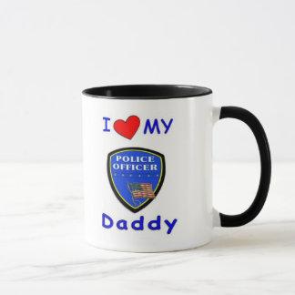 Love My Police Daddy Mug