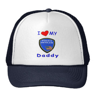 Love My Police Daddy Trucker Hat