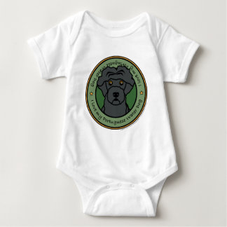 Love My Portuguese Water Dog Baby Bodysuit