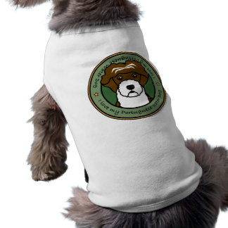 Love My Portuguese Water Dog Pet Tshirt