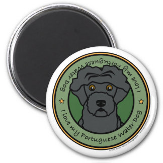 Love My Portuguese Water Dog Magnet