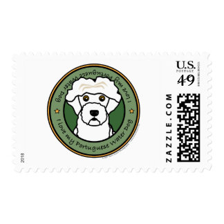 Love My Portuguese Water Dog Postage