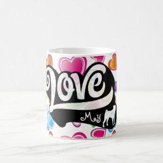 Love my Pug Coffee Mug