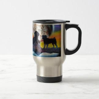 Love My Pug Travel Mug