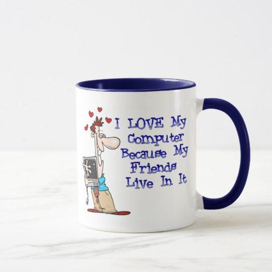 Love My Puter coffee mug
