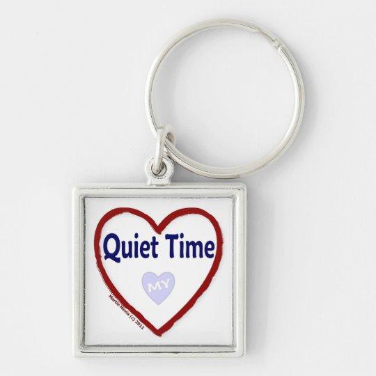 Love My Quiet Time Keychain