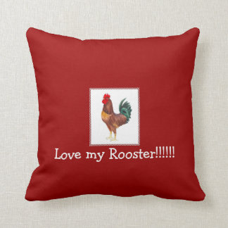 love my rhode island red rooster pillows