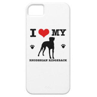 Love my Rhodesian Ridgeback iPhone SE/5/5s Case