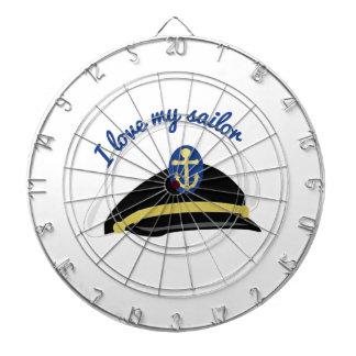 Love My Sailor Dart Board