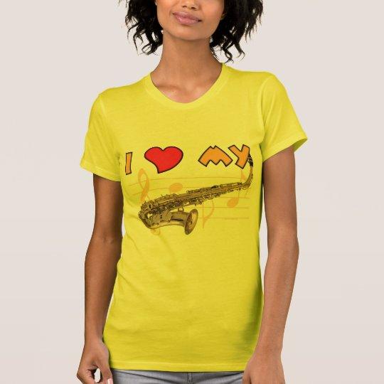 Love My Sax T-Shirt