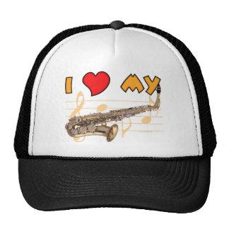 Love My Sax Trucker Hat