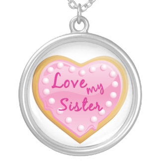 Love my Sister  Necklace