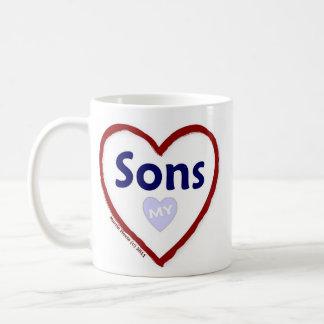 Love My Sons Coffee Mug