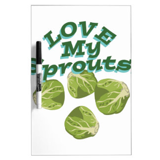 Love My Sprouts Dry-Erase Board
