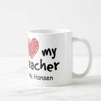 Love My Teacher Coffee Mug