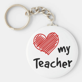 Love My Teacher Key Chain