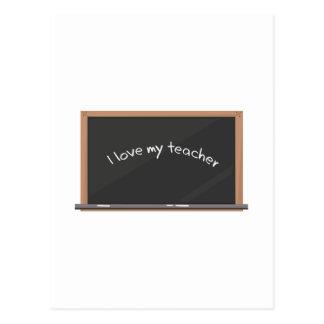 Love My Teacher Post Cards
