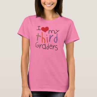 Love My Third Graders Ladies Long Sleeve T-Shirt