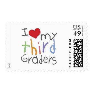 Love My Third Graders Stamp