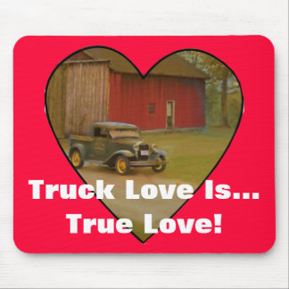 Love My Truck Merchandise Mouse Pad