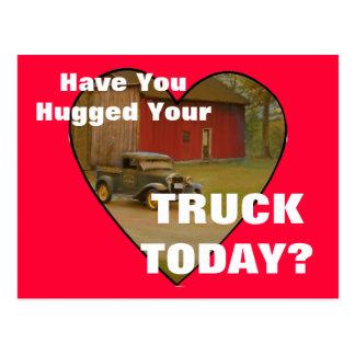 Love My Truck Merchandise Postcard