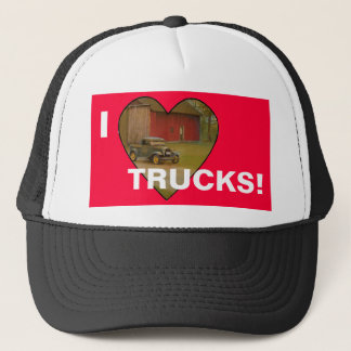 Love My Truck Merchandise Trucker Hat