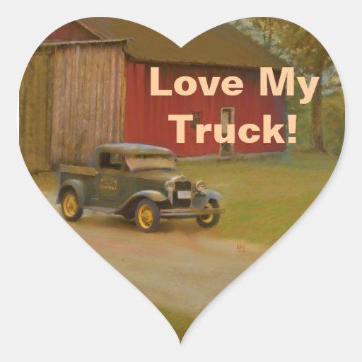 Love My Truck Stickers