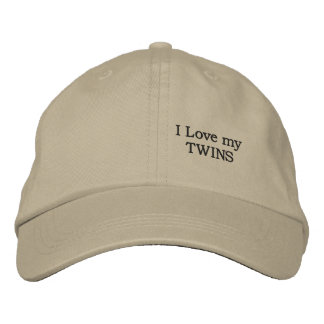 love my TWINS Embroidered Baseball Hat