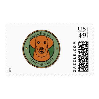 Love My Vizsla Postage Stamps