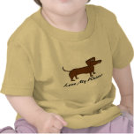 Love My Weiner Dog Gifts and Apparel Tees