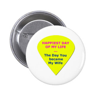 Love My Wife Pinback Button
