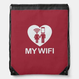 Love My WIFI bag Backpack