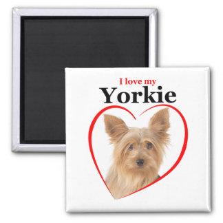 Love My Yorkie Magnet